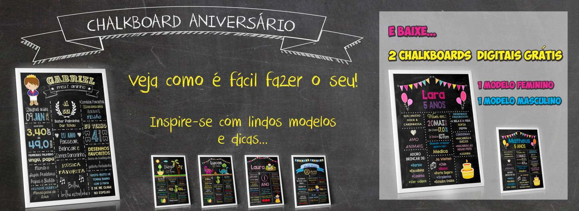 chalkboard aniversario infantil chalkboard gratis chalkboard digital