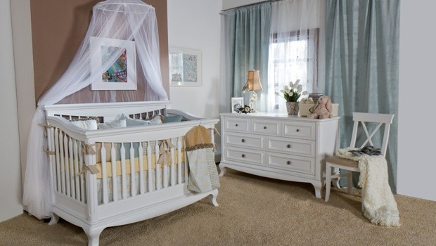 decoracao do quarto de bebe estilo provençal