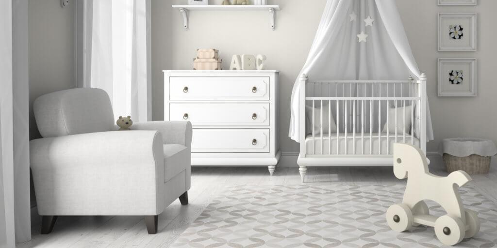 decoracao do quarto de bebe moveis basicos quarto do bebe